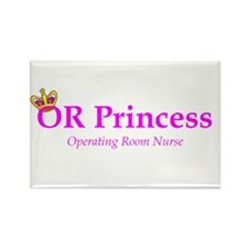 OR Princess RN Rectangle Magnet