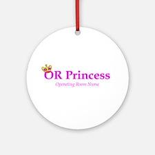 OR Princess RN Ornament (Round)
