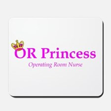 OR Princess RN Mousepad