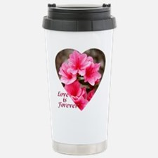 Azalea Heart Travel Mug