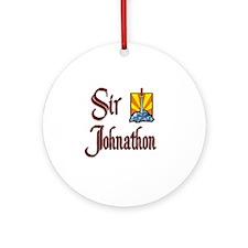 Sir Johnathon Ornament (Round)