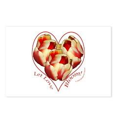 Tulips, Let Love Bloom Postcards (Package of 8)