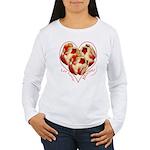 Tulips, Let Love Bloom Women's Long Sleeve T-Shirt