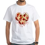 Tulips, Let Love Bloom White T-Shirt