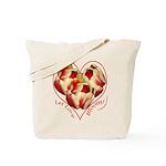Tulips, Let Love Bloom Tote Bag