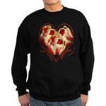 Tulips, Let Love Bloom Sweatshirt (dark)