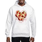 Tulips, Let Love Bloom Hooded Sweatshirt