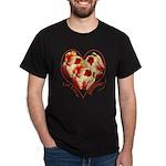 Tulips, Let Love Bloom Dark T-Shirt