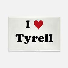 I love Tyrell Rectangle Magnet