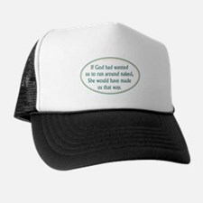 If God Wanted - Trucker Hat