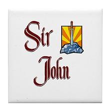 Sir John Tile Coaster