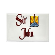 Sir John Rectangle Magnet