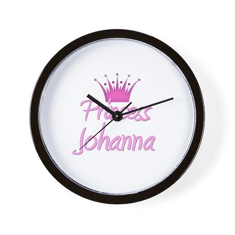 Princess Johanna Wall Clock