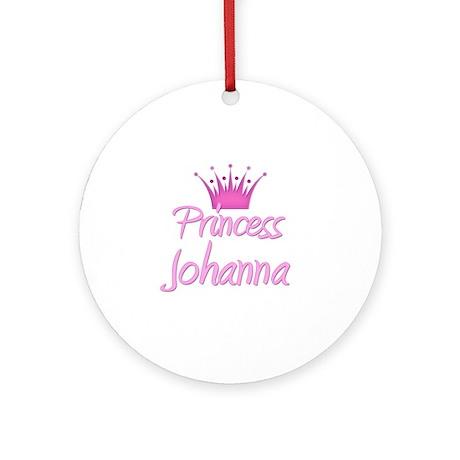Princess Johanna Ornament (Round)