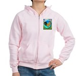 Dutch Opal Bantam Women's Zip Hoodie