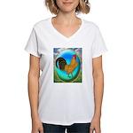 Dutch Opal Bantam Women's V-Neck T-Shirt