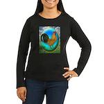 Dutch Opal Bantam Women's Long Sleeve Dark T-Shirt