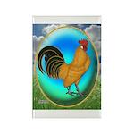 Dutch Opal Bantam Rectangle Magnet (10 pack)