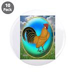 "Dutch Opal Bantam 3.5"" Button (10 pack)"