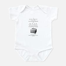 Evil printer Infant Bodysuit
