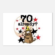 70 Already Birthday Postcards (Package of 8)