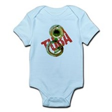 Grunge Sousaphone Infant Bodysuit