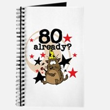 80 Already Birthday Journal
