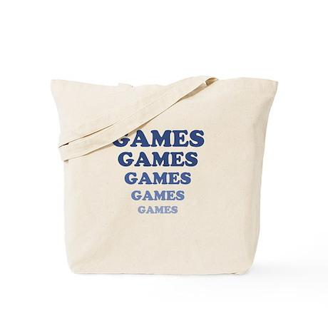 GAMES GAMES GAMES Tote Bag