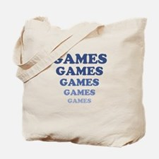 GAMES GAMES GAMES Tote Bag