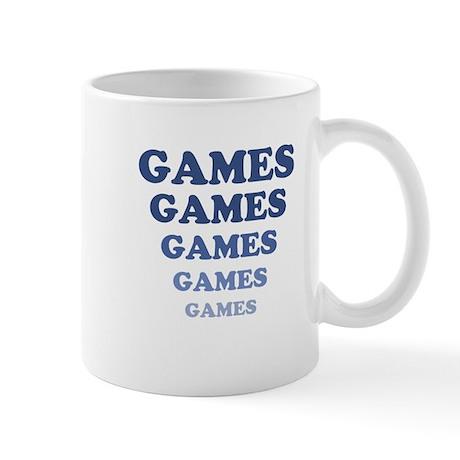 GAMES GAMES GAMES Mug