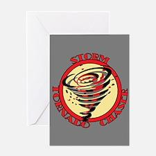 Storm Tornado Chaser Greeting Card