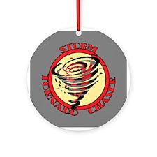 Storm Tornado Chaser Ornament (Round)