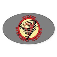 Storm Tornado Chaser Oval Decal