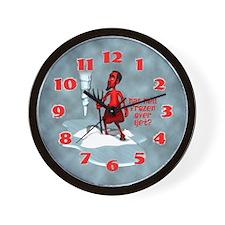 Hell Frozen Over Wall Clock