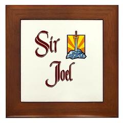 Sir Joel Framed Tile