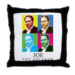 Joe The Speaker Throw Pillow