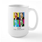 Joe The Speaker Large Mug