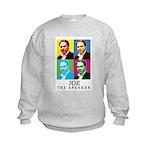 Joe The Speaker Kids Sweatshirt