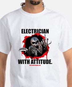 Electrician with Attitude Shirt