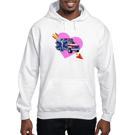 EMS Care Heart Hooded Sweatshirt