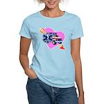 EMS Care Heart Women's Light T-Shirt