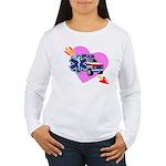 EMS Care Heart Women's Long Sleeve T-Shirt