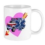 EMS Care Heart Mug