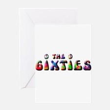 The 6ixties Peace Greeting Card