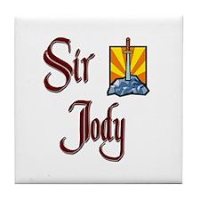 Sir Jody Tile Coaster