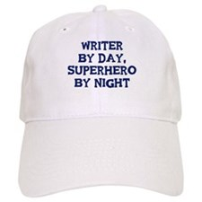 Writer by day Baseball Cap
