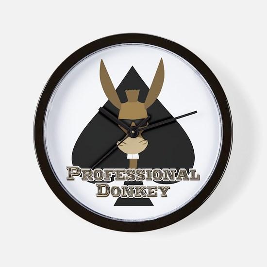 Professional Donkey Wall Clock