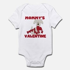 Dog Mommy's Valentine Infant Body Suit