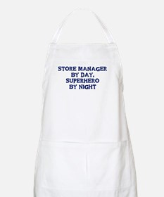 Store Manager by day BBQ Apron
