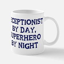 Receptionist by day Mug
